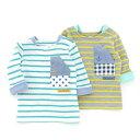 La Chiave 長袖Tシャツ (80〜130cm) 【春物】キムラタンの子供服