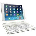 MK8100UV-WH 【送料無料】 マグレックス MAGREX iPad mini用 バックライト付きBluetoothキーボードケース ホワイト MK8100UVWH