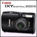 1470万画素の高画質【送料無料】キヤノン(CANON) デジタルカメラIXY DIGITAL 3000IS パンサーブラック