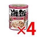 海缶 ミニ 3P かつお ×4セット (4571104712930)