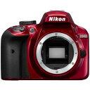 【在庫あり翌営業日発送OK A-5】 【代引き不可】【送料無料】[Nikon ニコン] D3400 BODY RD デジタル一眼カメラ D3400 ボディ レッド D3400BODYRD