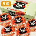 【くまもとマンゴープリン・5個入】くまモン・マンゴープリン・熊本・土産・箱菓子・菓子・ギフト・くまもん・プリン・お菓子・ご当地・名物