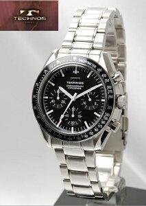 【送料無料】/テクノス(TECHNOS)/クロノグラフ/腕時計/T4146SB4SW