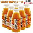 浜松の蜜柑無添加、 果汁100%ジュース 12本入り 1ダース 生絞り