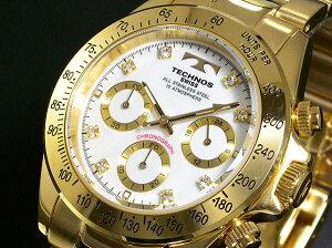 テクノス(TECHNOS)/腕時計/クロノグラフ/TGM639GW