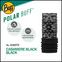 Polar Buff No.101070_CASHMERE BLACK BLACK