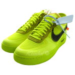 OFF WHITE×NIKEAO4606-700「THE:10 AIR FORCE1 LOW」スニーカー ボルト サイズ:26.5cm