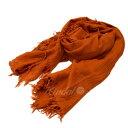 【中古】CITAUS ウールレーヨンフリンジストール オレンジ サイズ:- 【280419】(シトラス)