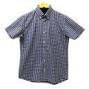 【中古】GDC ギンガムチェックシャツ ネイビー サイズ:S 【120719】(ジーディーシー)