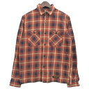 【中古】NEIGHBOR HOOD 13AW「LOGGER/C-SHIRT.LS」チェックシャツ レッド サイズ:S 【031019】(ネイバーフッド)