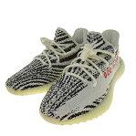 【11月21日 お値段見直しました】adidas OriginalsYEEZY BOOST V2 ZEBRA CP9654 ランニングシューズ ホワイト サイズ:26.0cm