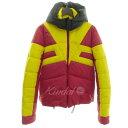 【中古】N21 中綿フーデッドジャケット イエロー×レッド サイズ:48 【171119】(ヌメロヴェントゥーノ)