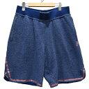 【中古】NIKE LAB ×Pigalle Basketball Short ハーフパンツ ブルー サイズ:L 【190420】(ナイキラボ)