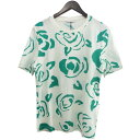 【中古】J.W.Anderson 16SS 総柄Tシャツ ホワイト×グリーン サイズ:XS 【230520】(ジョナサンウィリアムアンダーソン)