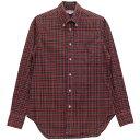 【中古】INDIVIDUALIZED SHIRTS exclusive fit チェックシャツ Beauty & Youth 別注 チェック サイズ:14 1/2-32 【050620】(インディビジュアライズドシャツ)