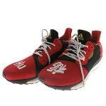 adidas Originals by Pharrell Williams SOLAR HU GLIDE M CNY スニーカー EE8701 レッド サイズ:US:11 (アディダス バイ ファレル・ウィリアムス)