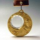ダイヤカットガラスのレリーフ MWメダル直径70mm 金メダル 《SH-2》 ★彫刻無料