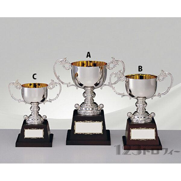 シルバーカップ(ゴルフ) AS-9003B ★高さ300mm《SH-4》 プレート彫刻無料 シルバーカップ(ゴルフ) AS-9003B  高さ300mmプレート彫刻無料 デザイン料無料