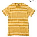 RVCA KONA CREW S/S KNIT TEE (MSG/MUSTARD GOLD)(ルーカ コナ クルー ショートスリーブ ニット Tシャツ)13SS-I