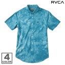 RVCA THAT'LL DO TYE DYE S/S SHIRT (2色展開)(ルーカ ザッル ドゥ タイダイ ショートスリーブ シャツ)【Kinetics】【半袖】【カジュアルシャツ】【ストリート】【サーフ】【スケート】14SS-I【50】【sale0123】