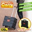 【送料490円】折りたたみ式コンテナキャリー P-02 運動会 キャンプ レジャー