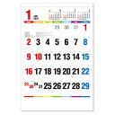2022年 壁掛けカレンダー ジャンボ One Week of Seven Co