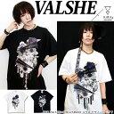 7月上旬〜7月中旬頃入荷の予約販売VALSHE × KINGLYMASK コラボ Tシャツ原宿 キン...