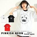 PINKISH NEON Neopy ネオピー KISS&HUG Tシャツピンピー ネオピー 原宿 メンズ レディース ユニセックス 男女兼用 新作PKNN オーオーティーディー #ootd 辰巳シーナ