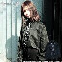 【Plume Calin】 ホワイトステッチ ロゴリボン 2WAY ビッグシャツユニセックス 小畑優奈 プリュムカラン