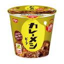 (まとめ)日清食品 日清カレーメシ ビーフ107g 1ケース(6食)【×5セット】