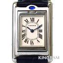 カルティエ Cartier タンク バスキュラント W1011158 ステンレス レディース 腕時計...