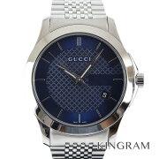 グッチ GUCCI Gタイムレス YA126481 126.4 クォーツ メンズ 腕時計 hs【中古】