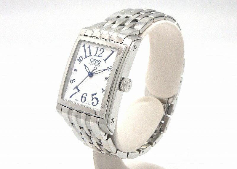 オリス ORIS レクタンギュラー 561 7651 4061M レディース 自動巻 時計 mi [] 全国一律送料無料装飾