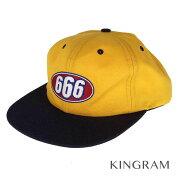 シュプリーム Supreme 17S/S 666 6-PANEL CAP ゴールドイエロー 表記ナシ メンズ キャップ rsn 【中古】