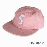 シュプリーム Supreme 18SS Washed Chambrey S Logo 6 Panel Cap ピンク コットン100% メンズ キャップ rsn 【中古】