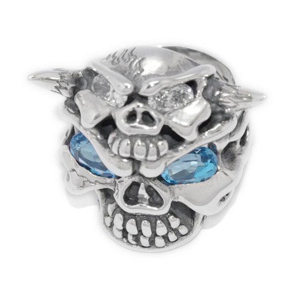 TRAVIS WALKER(トラヴィスワーカー) Full Speed Ahead Skull Ring Custom  RGS109-C 送料無料!!手数料無料!!ラッピング無料!!