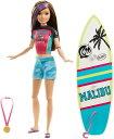 バービー ドリームハウスアドベンチャー スキッパー サーフドール (Barbie Dreamhouse Adventures Skipper Surf Doll, Approx. 11-Inch in Surfing Fashion/GHK36 /MATTEL/バービー人形)