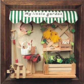 No. 5 street corner series ♪ maile torr garden that miniature ☆ house kit has a cute