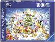 ディズニー ジグソーパズル 1000ピース クリスマス (Disney/ Ravensburger Puzzle/19287)