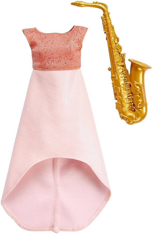 バービーサキソフォン奏者ファッションパック(BarbieCareersSaxophonePlayer