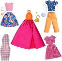 バービー ファッションパック 5着セットプラス6アクセサリー 3 /洋服 かばん ネックレス (Barbie Fashion Buildup Playset /MATTEL/FRL30)