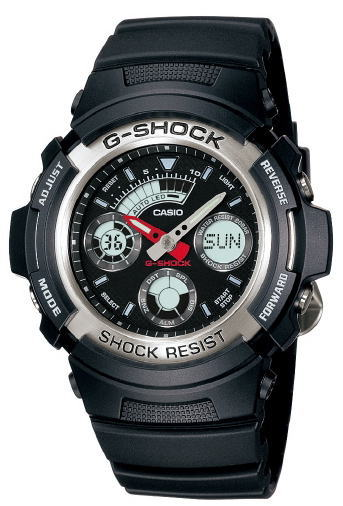 Casio g-shock for the AW-590-1AJF band (belt)