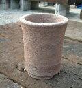 □ 伝市鉢 籾殻 シャジン鉢 4号