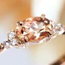 ブラジル ミナスジェライス インペリアル トパーズ ダイヤモンド イエロー ゴールド ホワイトゴールドリング フラヴィ