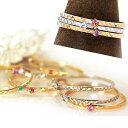 リング 指輪 10K 20種類の天然石 ピンクゴールド ホワイトゴールド・リジューヌ 誕生石 ダイヤモンド ルビー サファイア ターコイズ 重ねづけリング 重ね着け 華奢 シンプル 一粒ダイヤモンド ピンキーリング対応 ファランジリング ファッションリング ジュエリー