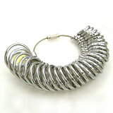 【あす楽対応】プロ仕様リングゲージ 指輪ゲージ・1〜30号まで測定可能 リングサイズ 指輪サイズ サイズゲージ 彼女へプレゼント 号数わからない 指輪ゲージ ピンキーリング 指輪