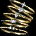 ファンシーカットダイヤモンド 一粒ダイヤ K10 ピンクゴールド ホワイトゴールド イエローゴールド リング レディース 指輪・アルセナーレ ハート マーキス ペアシェイプ プリンセス バケット 重ねづけ 華奢 シンプル ファ