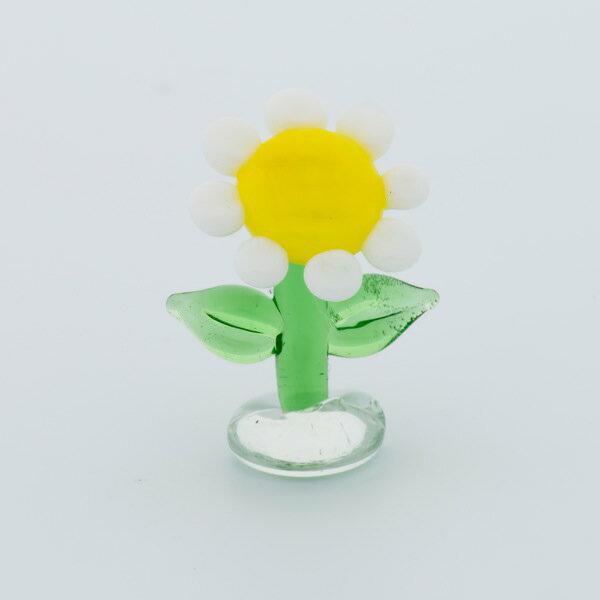 ジェルキャンドル用ガラス細工マーガレットジェルキャンドルゼリーキャンドルガラス装飾キット材料手作りキ