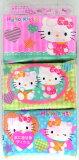 Hello Kitty 角色小面巾纸(小型6个包)【邮件投递OK】(新包装)[M航班1/3]【孩子用/运动会/礼物/赠品/迷你角色 纸巾/口袋T[ハローキティー キャラクターポケットティッシュ(ミニサイズ6個パック)【メール便OK】