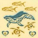 うつし金蒔絵「nalu blue/ホエールゴールド」